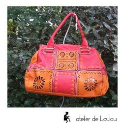 achat sac à main coloré   sac de ville coloré