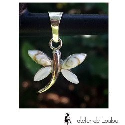 Achat bijou sainte lucie papillon | porte bonheur lucie papillon