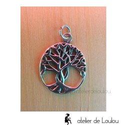 achat pendentif arbre de vie | bijou arbre de vie argent