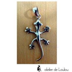achat bijou gecko   acheter pendentif salamandre