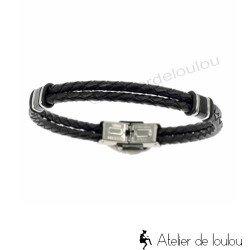 achat bracelet homme | bracelet homme noir