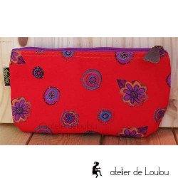 Trousse rouge | achat pochette rouge