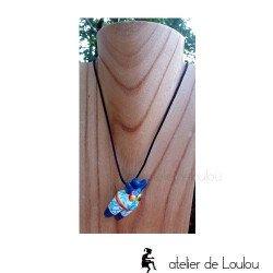 collier grosse nana Niki   collier féminité colorée