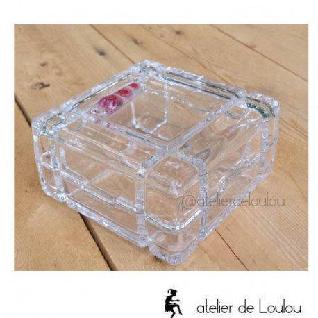 Boîte à bijoux cristal | achat boite bijou