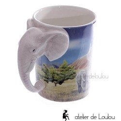Mug éléphant | acheter tasse éléphant