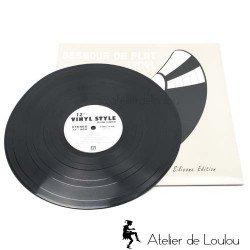 dessous plat | dessous silicone | 33 tours vinyle