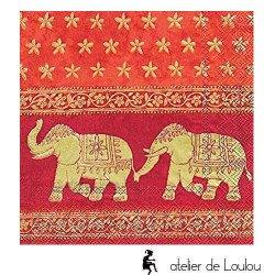 serviette éléphant | serviette papier éléphant