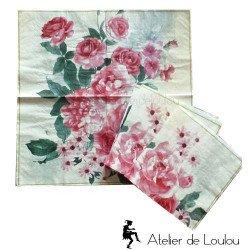 serviette papier shabby| serviette papier vintage