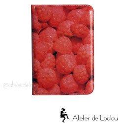 Porte carte fraises | passeport bonbons Haribo