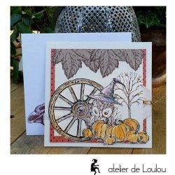 carte postale fait main | achat carte postale