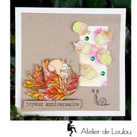 carte postale anniversaire   achat carte postale
