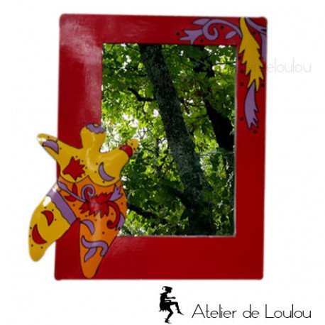 Miroir original   glace originale couleurs