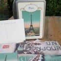 Coffret cartes postales Paris rétro
