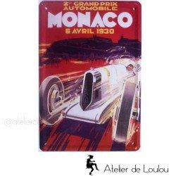 circuit Monaco | plaque Monaco 1930