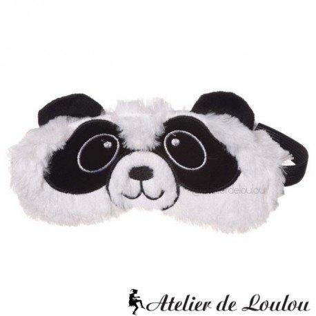 Masque peluche panda