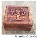 Boîte à bijoux arbre de vie