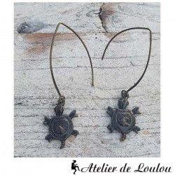 Achat bijou tortue | turtle earings