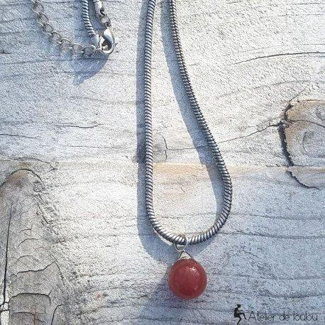 pendentif ambre | pendentif perle naturelle