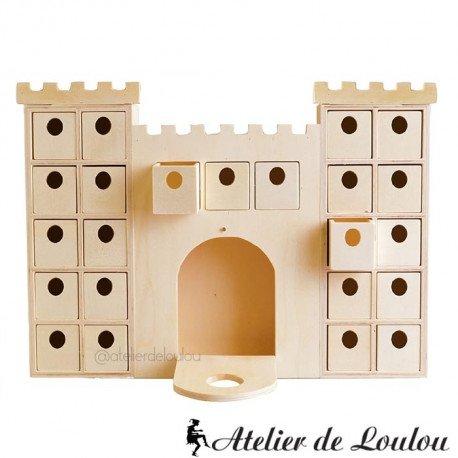 acheter chateau en bois