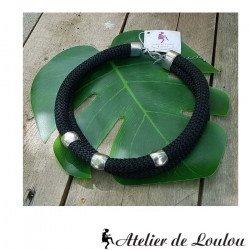collier de chien bijou | ras de cou noir