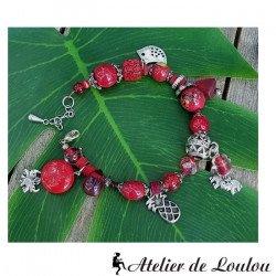 Achat grand bracelet breloques