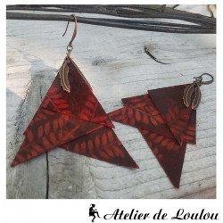 acheter bijou artisan | bijou triangles