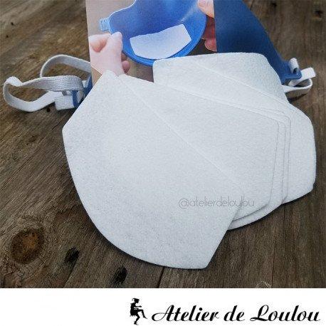 acheter filtres pour masques Koziol polyester
