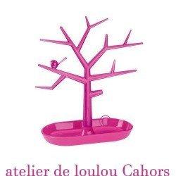 Acheter arbre bijou rose de chez Koziol