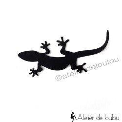 Accroche gecko Artori design | crochet métal salamandre