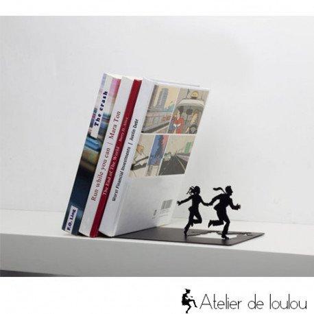 Serre-livres métal runaway Artori Design