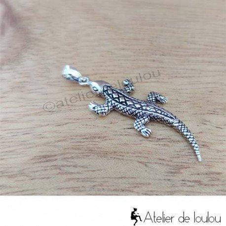 Achat bijou gecko | Acheter pendentif salamandre