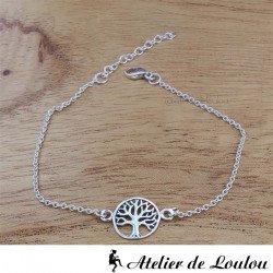 Achat bracelet argent arbre de vie