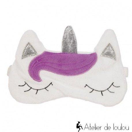 Avheter masque peluche licorne