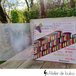 Acheter livres personnel vins de la cave