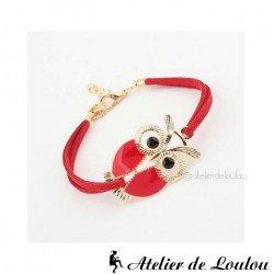 Acheter bracelet chouettes fantaisie