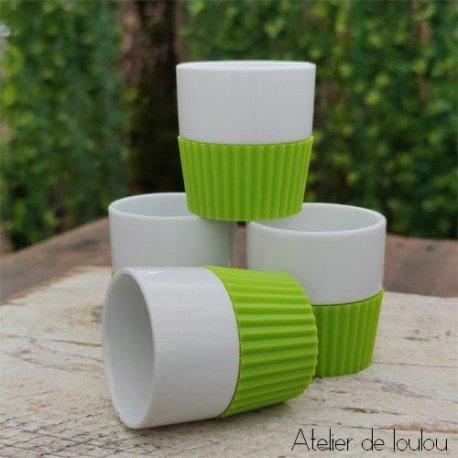 Acheter tasse café vert | tasse silicone expresso