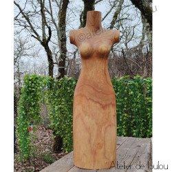 Acheter superbe buste en bois