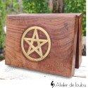 Boîte à bijoux bois