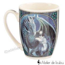 Acheter mug dragon et licorne motifs celtes