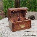 Boîte à encens bois éléphant