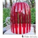 Lampe Josephine rouge S Koziol