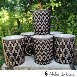 Acheter lot de jolis mugs pour le bureau