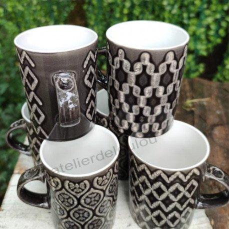 Acheter lot de jolis mugs pour la cuisine