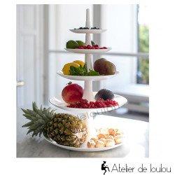 Babell compotier Koziol | tour à gâteaux
