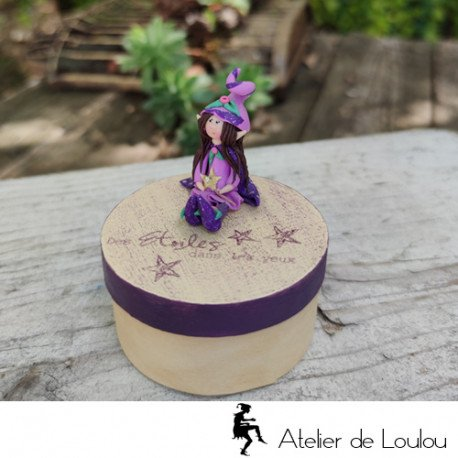 Acheter boite à bijoux fée elfe figurine