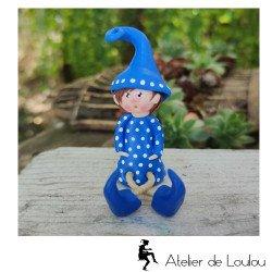 Achat figurine lutin elfe | déco elfique elfe