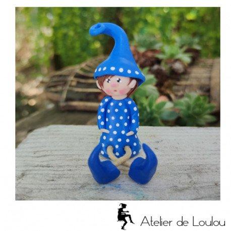 Achat figurine lutin elfe   déco elfique elfe