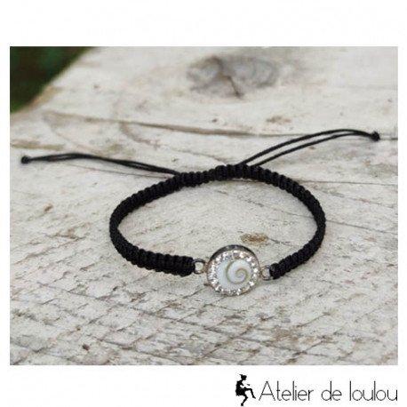 Achat bracelet sainte Lucie réglable