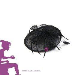 chapeau bibi plume | chapeau maman princier | chapeau mariage