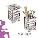 Twinbox WERKHAUS bois recyclé musique